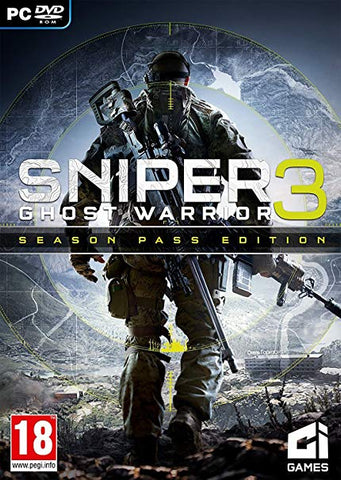SNIPER GHOST WARRIOR 3 - SEASON PASS DLC - STEAM - PC - EMEA, US