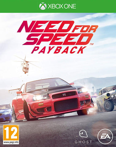 NEED FOR SPEED PAYBACK - XBOX ONE - XBOX LIVE - WORLDWIDE - MULTILANGUAGE