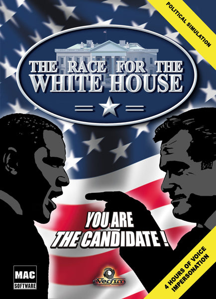 THE RACE FOR THE WHITE HOUSE - STEAM - PC - WORLDWIDE