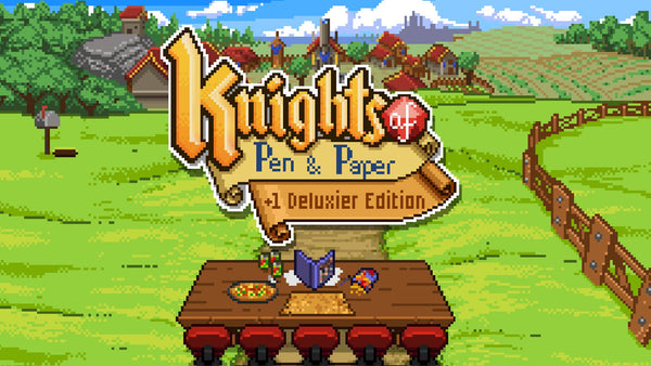 KNIGHTS OF PEN AND PAPER +1 (DELUXIER EDITION) - STEAM - PC - WORLDWIDE
