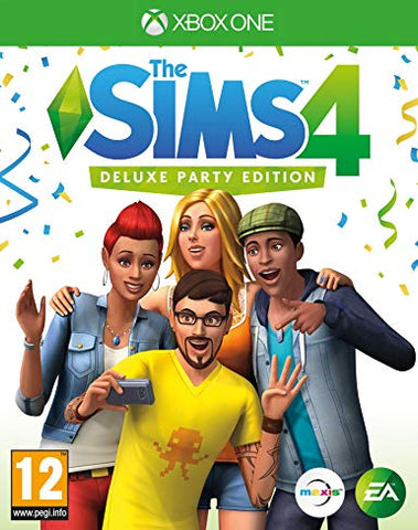 THE SIMS 4 DELUXE PARTY EDITION - XBOX ONE - XBOX LIVE - WORLDWIDE - MULTILANGUAGE Libelula Vesela