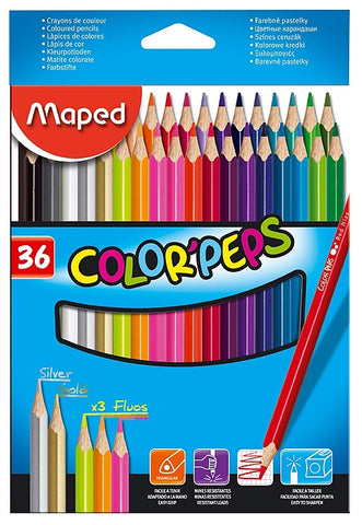 CREIOANE COLORATE MAPED 36/SET (832017)