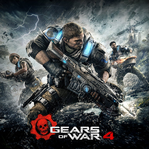GEARS OF WAR 4 (XBOX ONE & WINDOWS 10) - XBOX LIVE - WORLDWIDE - XBOX ONE / PC