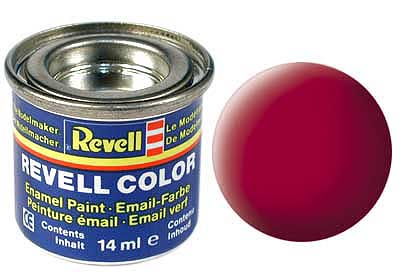 CARMINE RED, MAT 14 ML - REVELL ()