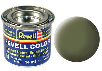 DARK GREEN, MAT 14 ML - REVELL (32168)