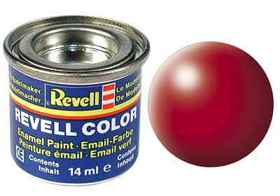 FIERY RED, SILK 14 ML - REVELL ()