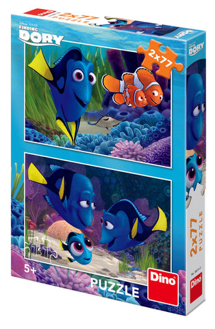 PUZZLE 2 IN 1 - GASIREA LUI DORY (77 PIESE) - DINO TOYS (386143)