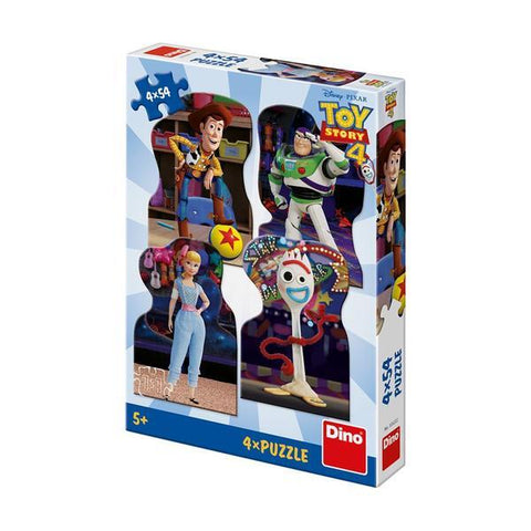 PUZZLE 4 IN 1 - TOY STORY 4 (54 PIESE) - DINO TOYS (333222)