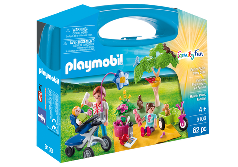 SET PORTABIL - PICNIC IN FAMILIE - PLAYMOBIL (PM9103)