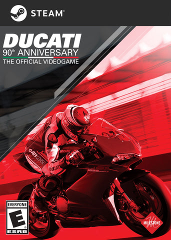 DUCATI - 90TH ANNIVERSARY - STEAM - PC - WORLDWIDE