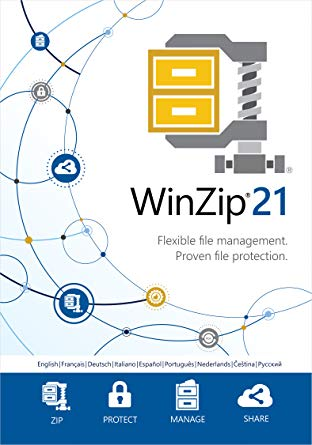 WINZIP 21 STANDARD EDITION - OFFICIAL WEBSITE - MULTILANGUAGE - WORLDWIDE - PC