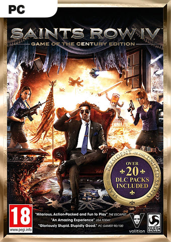 SAINTS ROW IV: GAME OF THE CENTURY EDITION - STEAM - PC - WORLDWIDE