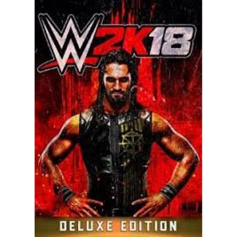 WWE 2K18 (DIGITAL DELUXE) - PRE-ORDER - STEAM - PC - EU