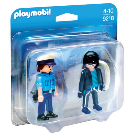 POLITIST SI HOT - PLAYMOBIL (PM9218)