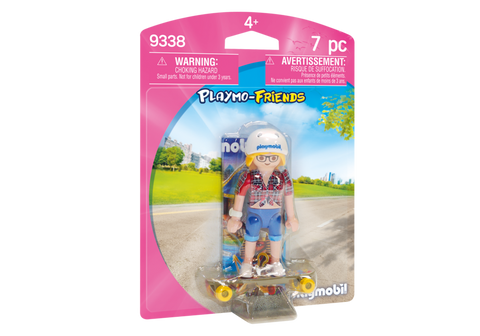 FIGURINA - SKATEBOARDER - PLAYMOBIL (PM9338)