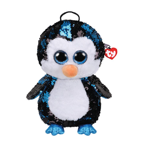 RUCSAC CU PAIETE PINGUINUL WADDLES - TY (ST9XTY95029)