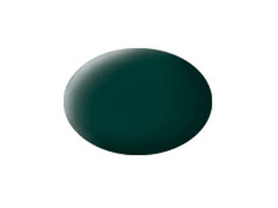 AQUA BLACK-GREEN MAT - REVELL (36140)