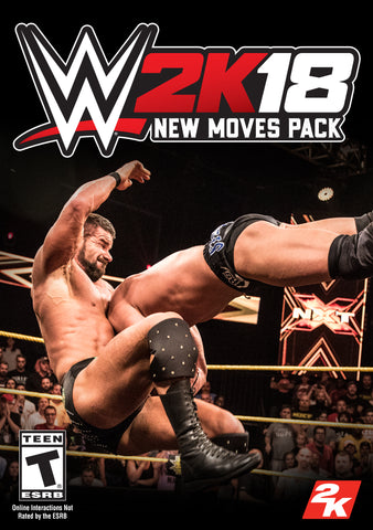 WWE 2K18 NEW MOVES PACK (DLC) - STEAM - PC - WORLDWIDE