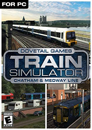 TRAIN SIMULATOR - CHATHAM MAIN & MEDWAY VALLEY LINES ROUTE ADD-ON (DLC) - STEAM - PC