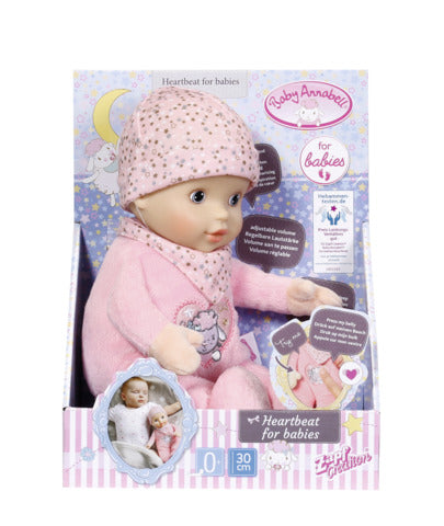 BABY ANNABELL - BATAILE INIMII 30 CM - ZAPF (ZF702543)