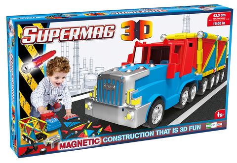 SUPERMAG 3D - JUCARIE CU MAGNET CAMION - SUPERMAG (SM0610)