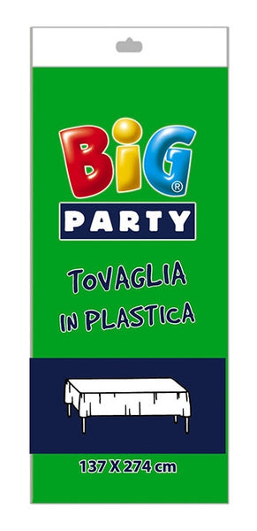 FATA DE MASA DIN PLASTIC VERDE 137 X 274 CM BIG PARTY (BP14704)