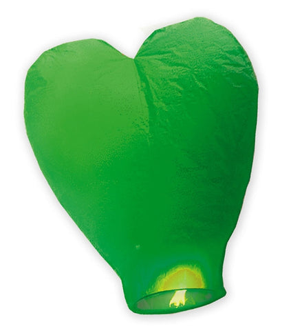 LAMPION INIMA VERDE 100 CM BIG PARTY (BP32002)