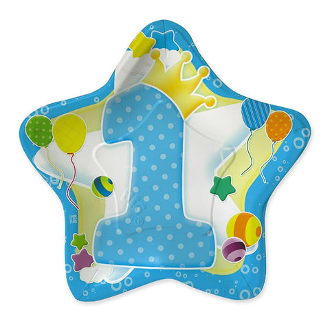 SET 10 FARFURII 24 CM FORMA DE STEA BIG PARTY (BP60920)