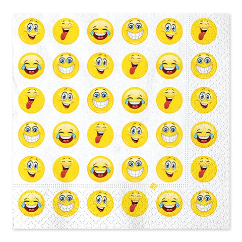 SERVETELE 33 X 33 CM EMOTICOANE BIG PARTY (BP61950)