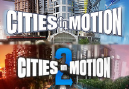 CITIES IN MOTION 1 AND 2 COLLECTION - STEAM - PC