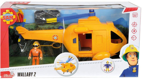 POMPIERUL SAM - ELICOPTER WALLABY 2 - SMOBY (109251002002)