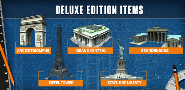 CITIES: SKYLINES - DELUXE UPGRADE PACK (DLC) - STEAM - PC - WORLDWIDE