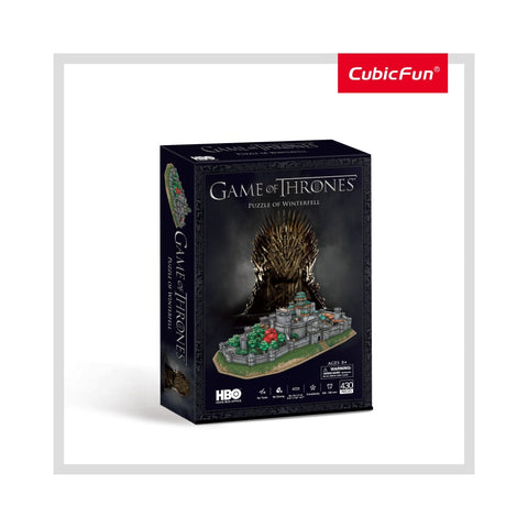 PUZZLE 3D GAME OF THRONES - WINTERFELL 430 PIESE - CUBICFUN (CUDS0988H) Libelula Vesela Jucarii