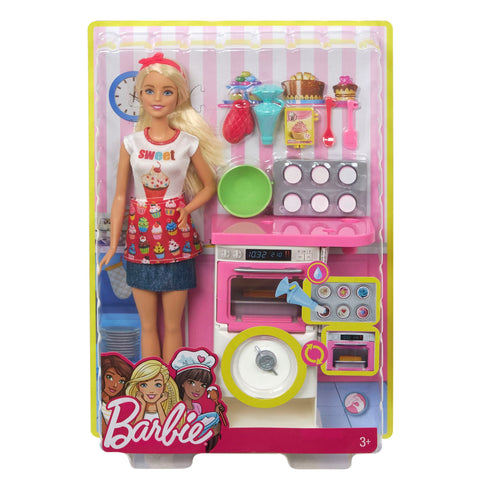 BARBIE® BAKERY CHEF DOLL AND PLAYSET - MATTEL  (FHP57)
