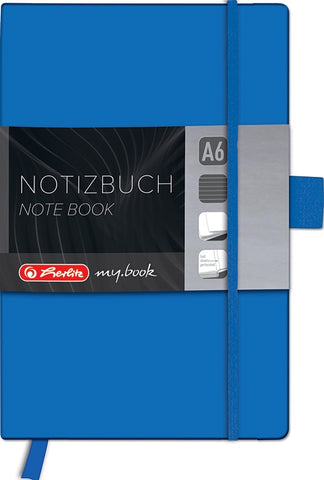 NOTE BOOK A6 DICTANDO CLASSIC MY.BOOK HERLITZ ALBASTRU (HZ11369121)