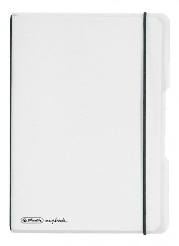 CAIET MY.BOOK FLEX A5 40 FILE PATRATELE TRANSPARENT HERLITZ (HZ9469010)