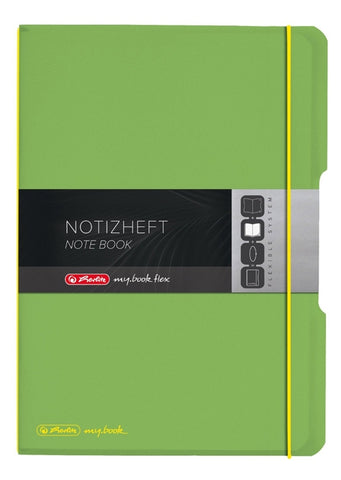 CAIET MY.BOOK FLEX A6 40F PATRATELE VERDE TRANSPARENT HERLITZ (HZ9469420)