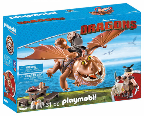 DRAGONS - FISHLEGS SI MEATLUG - PLAYMOBIL (PM9460)