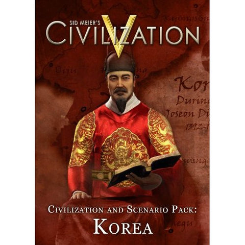 SID MEIER'S CIVILIZATION V AND SCENARIO PACK: KOREA - STEAM - PC - EU