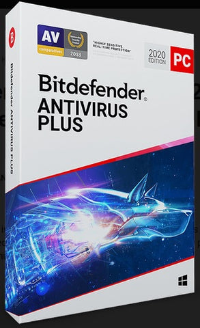 BITDEFENDER ANTIVIRUS PLUS 2020 5 DEVICES 1 YEAR PC BITDEFENDER - OFFICIAL WEBSITE - MULTILANGUAGE - WORLDWIDE - PC