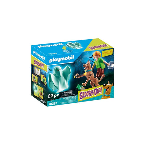 SCOOBY-DOO! SCOOBY & SHAGGY CU FANTOMA - PLAYMOBIL (PM70287)
