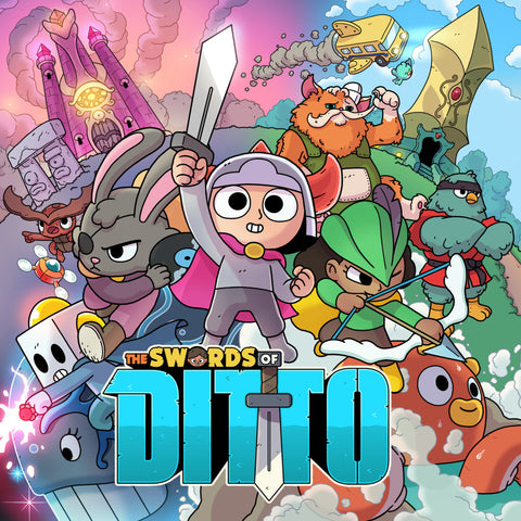 THE SWORDS OF DITTO - STEAM - MULTILANGUAGE - WORLDWIDE - PC