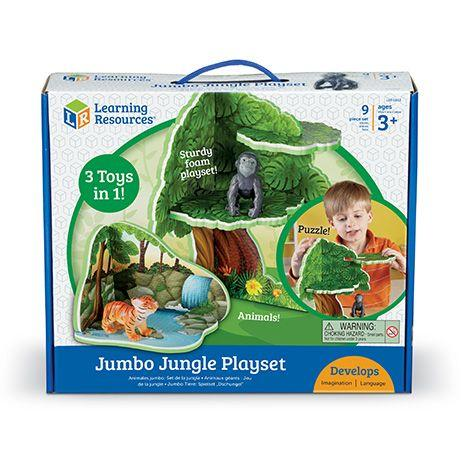 JOC DE ROL - JUNGLA JUMBO - LEARNING RESOURCES (LER0832)