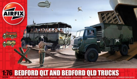 BEDFORD QLT AND BEDFORD QLD TRUCKS - AIRFIX (AF03306)