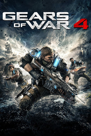 GEARS OF WAR 4 (MULTIFORMAT - XBOX ONE & WINDOWS 10) - XBOX LIVE - PC - EMEA