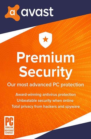 AVAST PREMIUM SECURITY (10 DEVICES, 3 YEARS) - OFFICIAL WEBSITE - MULTILANGUAGE - WORLDWIDE - PC / ANDROID /MAC