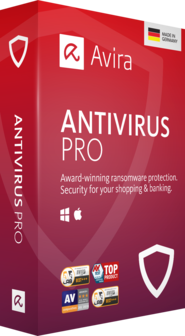 AVIRA ANTIVIRUS PRO (5 USERS, 1 YEAR) - OFFICIAL WEBSITE - MULTILANGUAGE - WORLDWIDE - PC