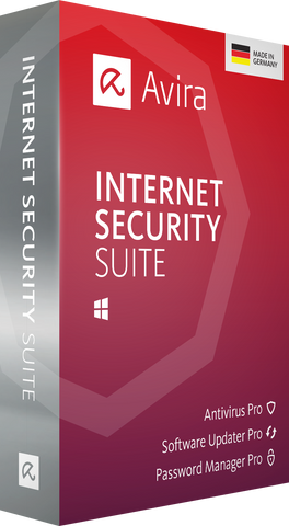 AVIRA INTERNET SECURITY SUITE (1 DEVICE, 3 YEARS) - OFFICIAL WEBSITE - MULTILANGUAGE - WORLDWIDE - PC