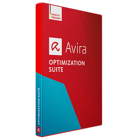 AVIRA OPTIMIZATION SUITE (1 DEVICE, 1 YEAR) - OFFICIAL WEBSITE - MULTILANGUAGE - WORLDWIDE - PC