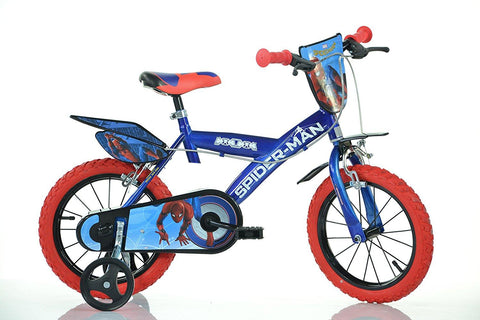 BICICLETA COPII 14'' SPIDERMAN HOME - DINO BIKES (143G-SPH)